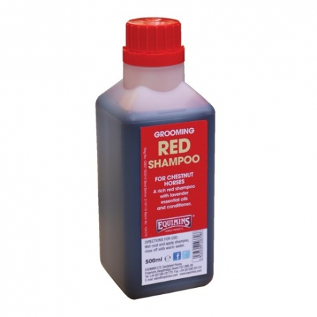 Equimins Red Shampoo for Chestnuts **
