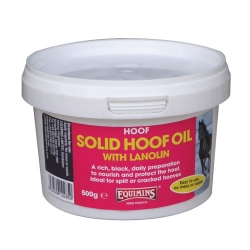 Equimins Solid Hoof Oil with Lanolin **