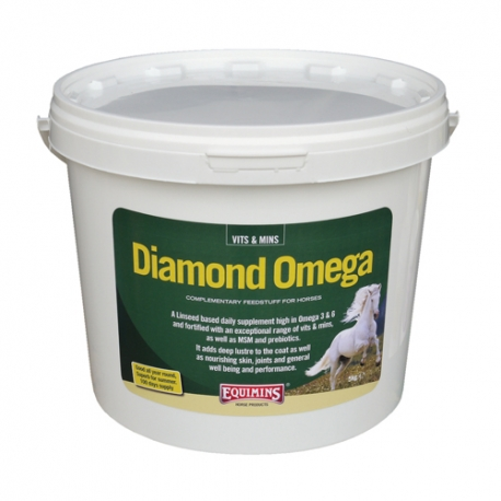 Equimins Diamond Omega - Micronised Linseed Supplement