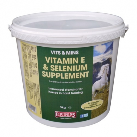 Equimins Vitamin E & Selenium Supplement