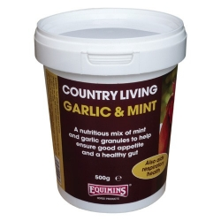 Equimins Country Living Garlic & Mint